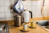 liebevolle Einrichtung auch in der Küche