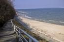 Selliner Strand links der Seebrücke
