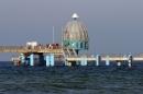 Selliner Seebrücke und die Tauchglocke