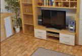 Der Wohnraum und TV