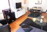 Wohnraum mit TV