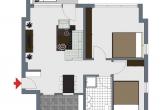 Grundriss Wohnung B15