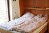 Doppelbett im Schlafschrank