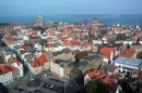 Stralsund mit Blick zum Meer