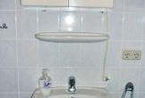 Badezimmer mit Waschbecken