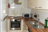 komplett ausgerüstete Küche