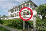 Lage der Ferienwohnung 04 in der Strandresidenz Juliusruh im Haus I