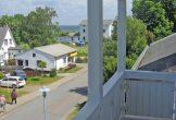 Blick vom kleinen West-Balkon