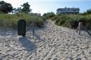 Eingang von der Strandresidenz zum Strand