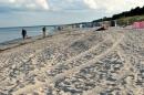 Der Strand bei der Strandresidenz