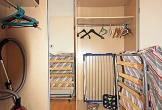 Abstellraum und großer Kleiderschrank