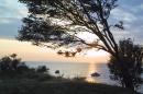 Abenddämmerung Insel Ummanz