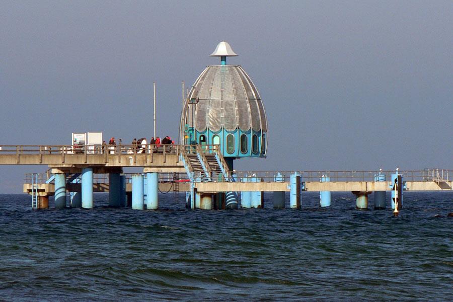 Tauchgondel bei der Seebrücke Sellin