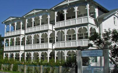 Strandresidenz Juliusruh Haus I Balkonseite