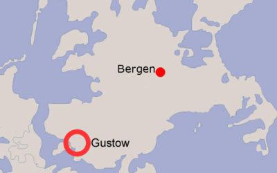 Lagekarte Gustow