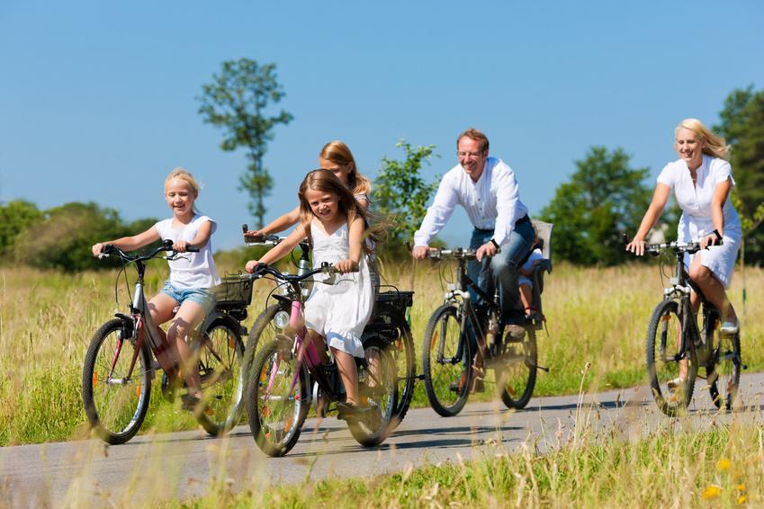 Fahrradfahrergruppe