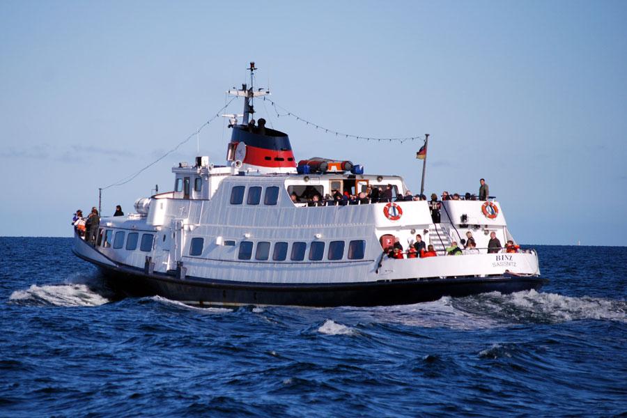 Schiff auf der Ostsee