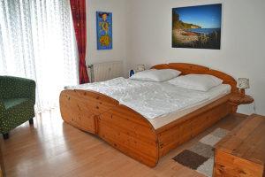 Schlafzimmer Ferienwohnung W03