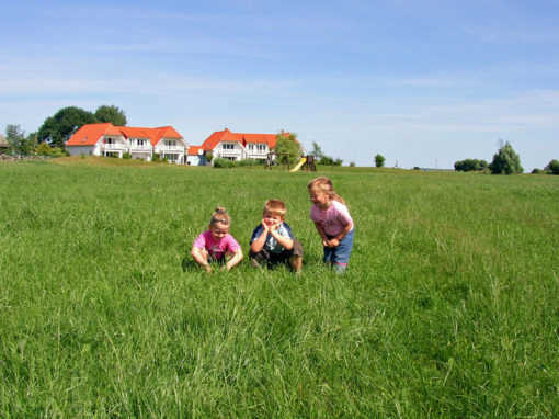 Kinder bei Ferienanlage Volsvitz