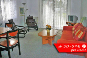 Wohnzimmer Fewo W01
