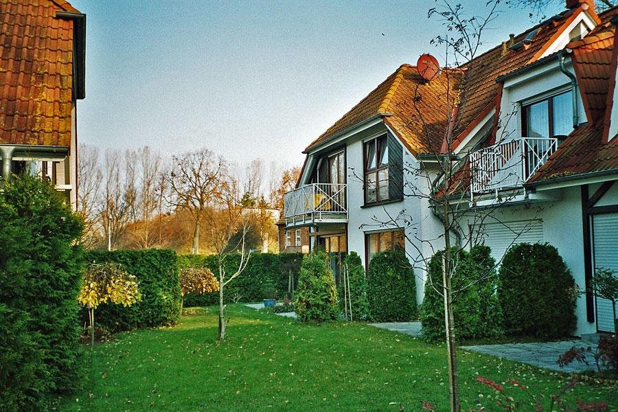 Ferienanlage Gustow - Gartenansicht
