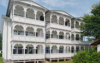 Strandresidenz Juliusruh Haus II Balkonseite