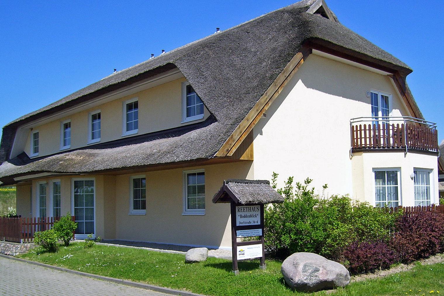 Boddenblick Haus 2 Eingang