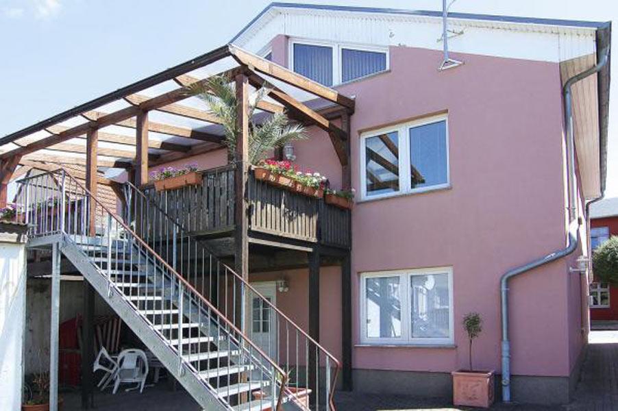 Balkon Appartement 4