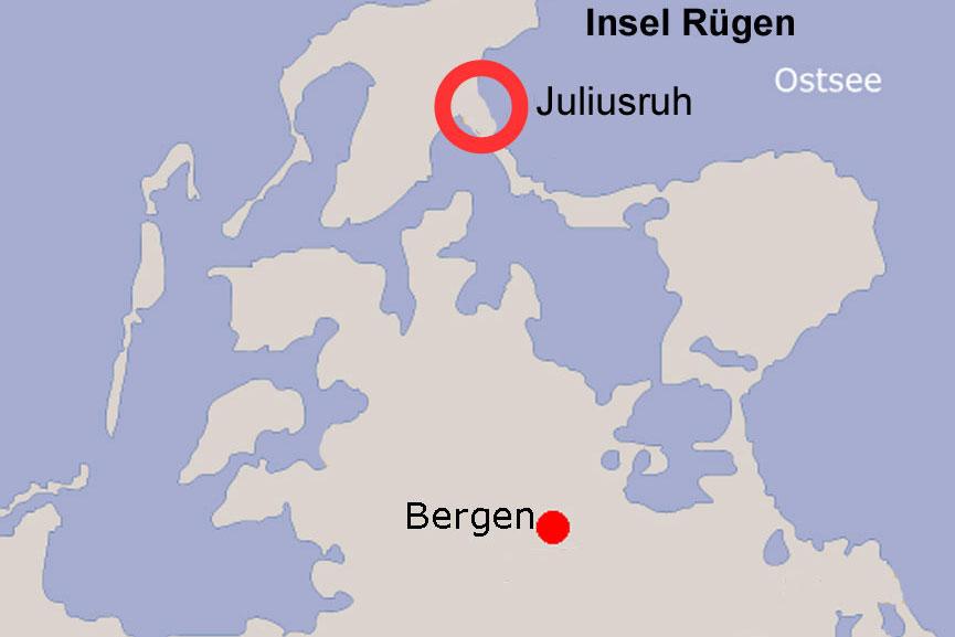 Karte Juliusruh