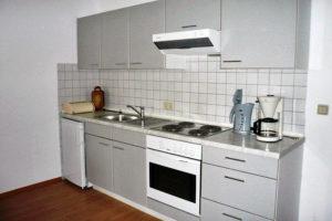 Küchenzeile Ferienwohnung W06