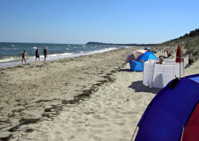 Strand bei Lobbe