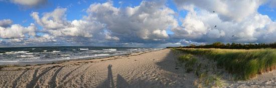 Luftbild vom Ostseebad Sellin - Bild © Kurverwaltung Sellin