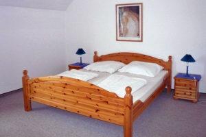 Schlafzimmer Ferienwohnung W13