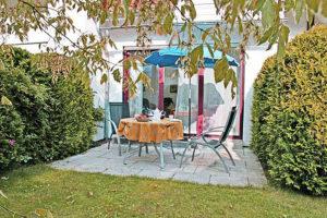 Terrasse Ferienwohnung D19