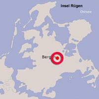 Karte Lage Bergen