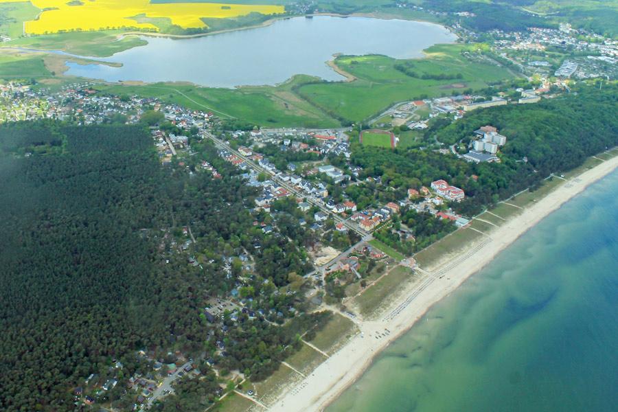 Selliner See - im Vordergrund Baabe