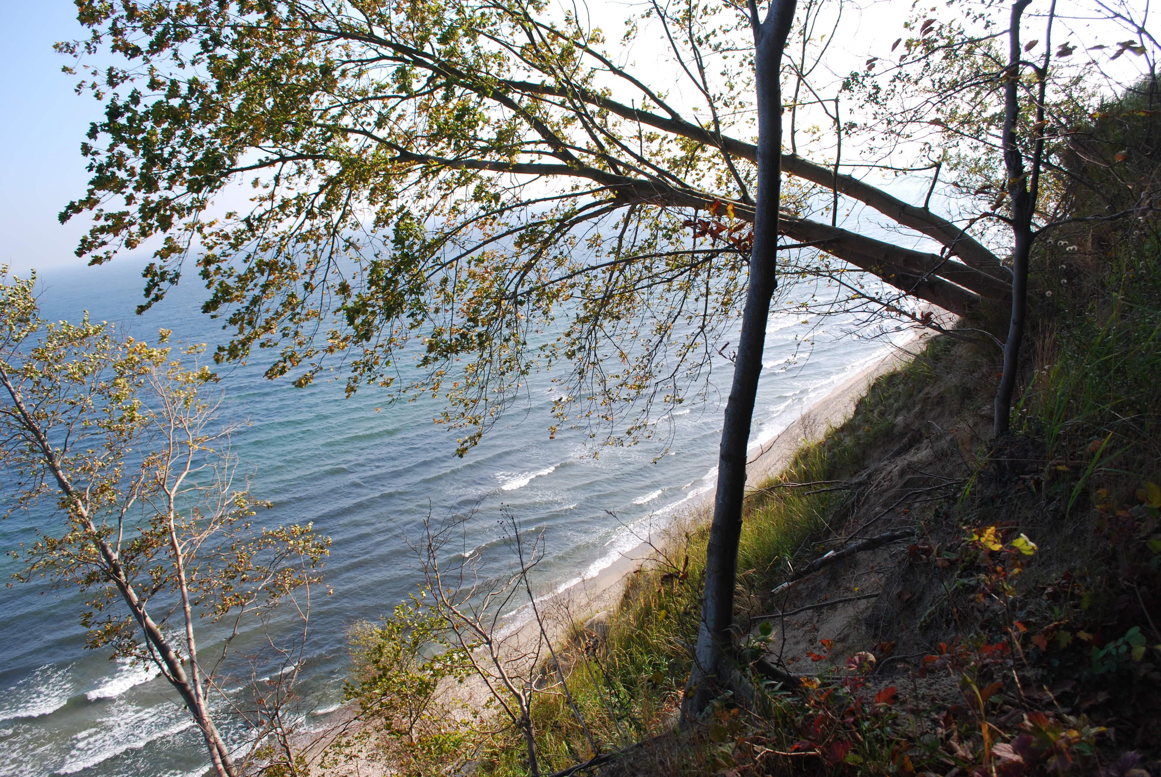 Hochuferweg - Blick auf die Ostsee