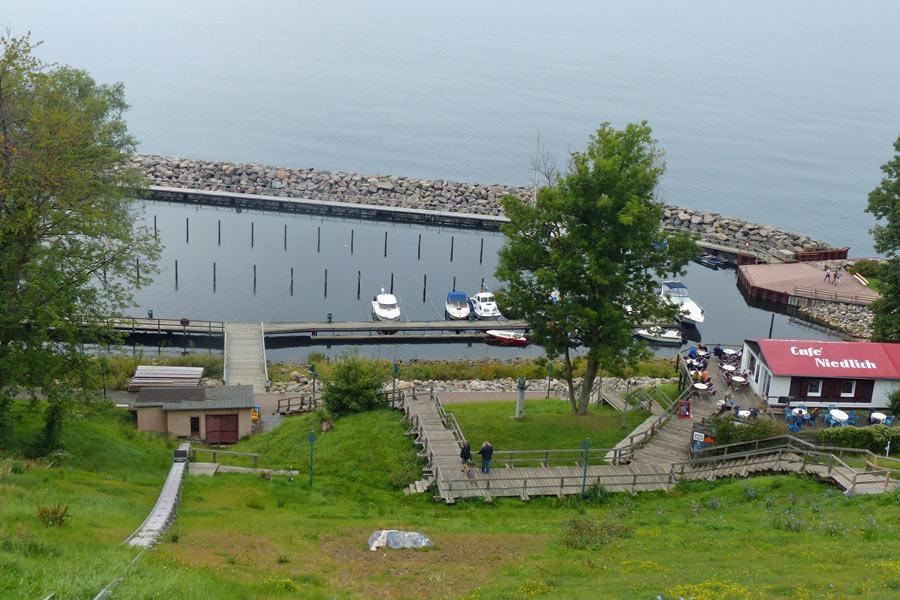 Der Hafen von Lohme