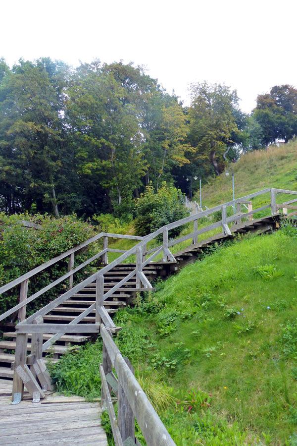 Die Treppe von Lohme zum Strand