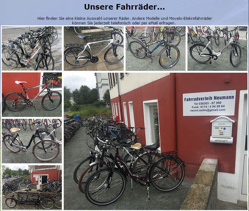 Fahrradverleih Neumann