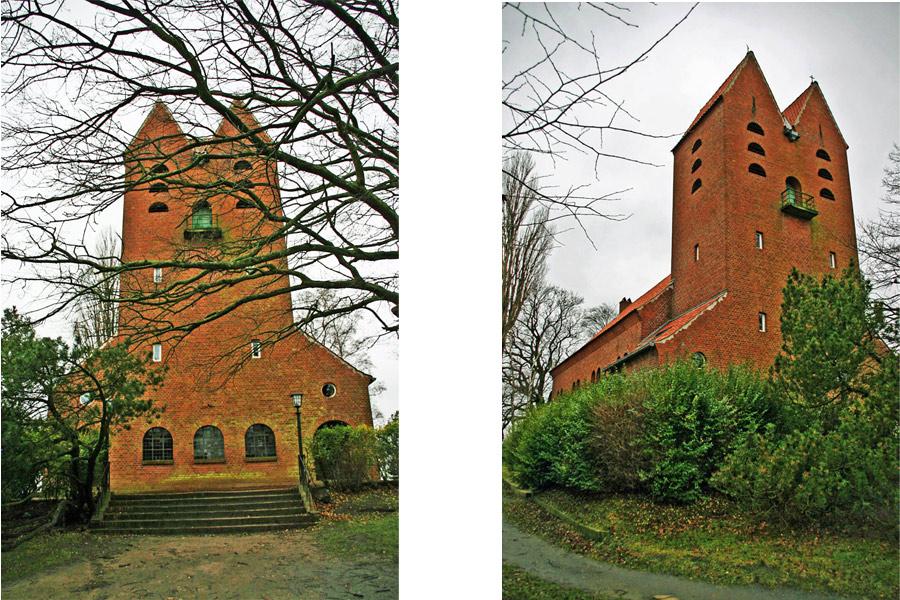 Front Evangelische Kirche Göhren im Jahr 2005