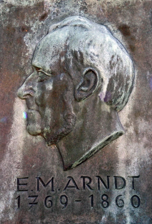 Ernst Moritz Arndt 1769-1860