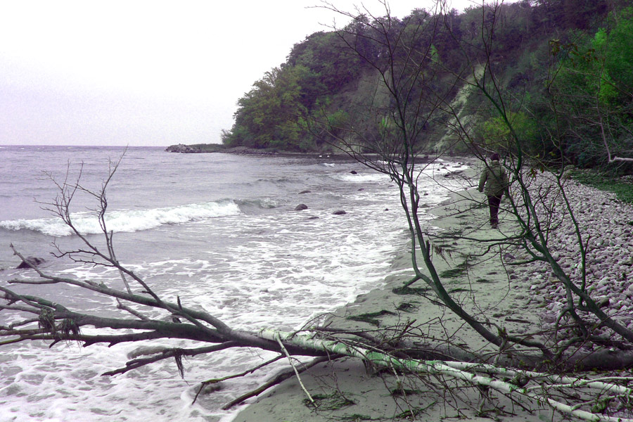Strand bei Göhren mit Blick Richtung Nordperd