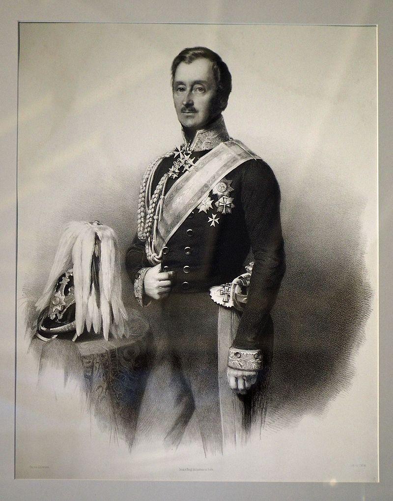 Wilhelm Malte I., Lithografie von Carl Wildt