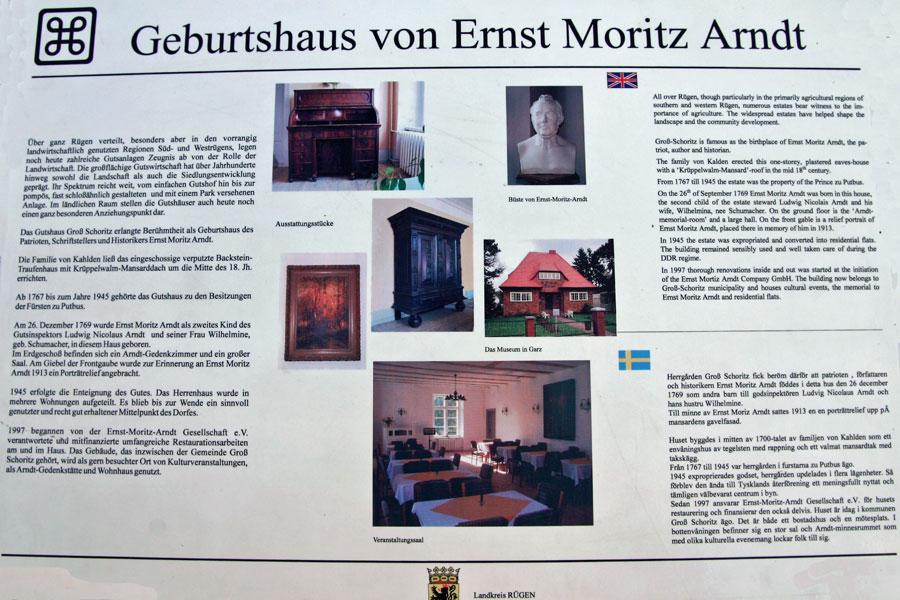 Gutshaus Groß Schoritz im Jahr 2005