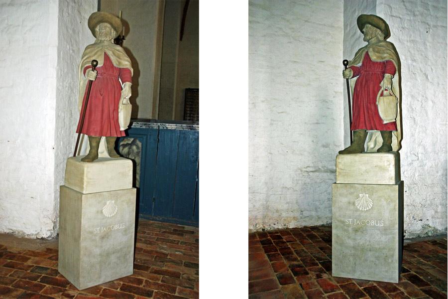St. Jacobi in der St. Jacobi Kirche Gingst im Jahr 2005