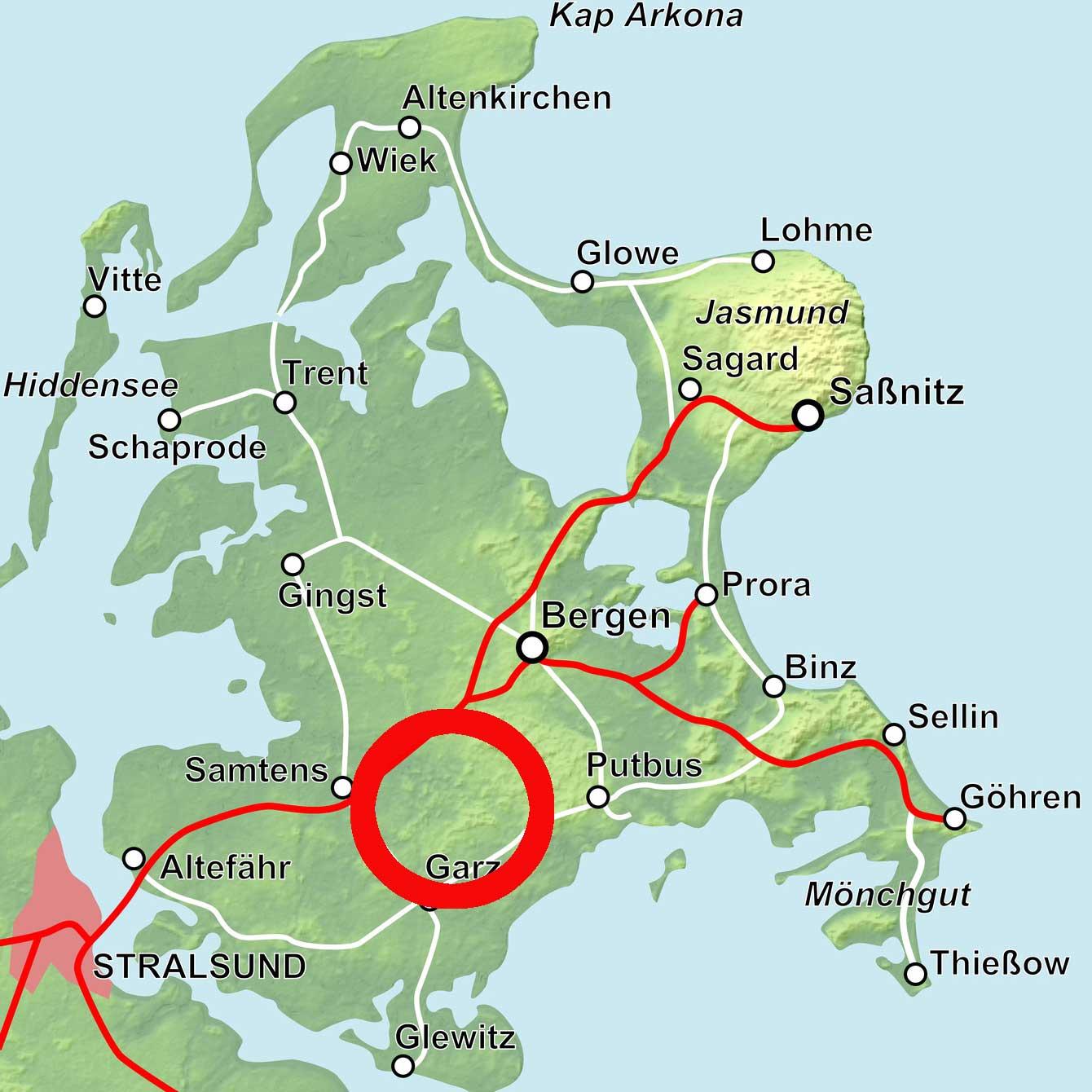 Karte Karnitz