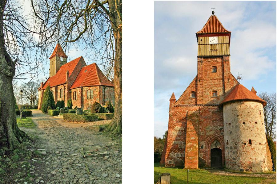 St. Katharinen Kirche Middelhagen im Jahr 2005