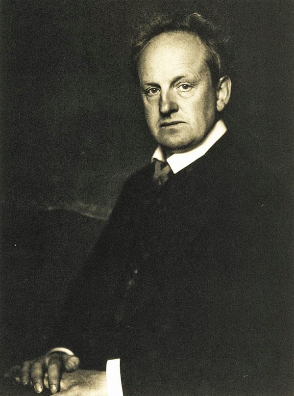 Gerhart Hauptmann - Bild von Nicola Perscheid aus Wikipedia