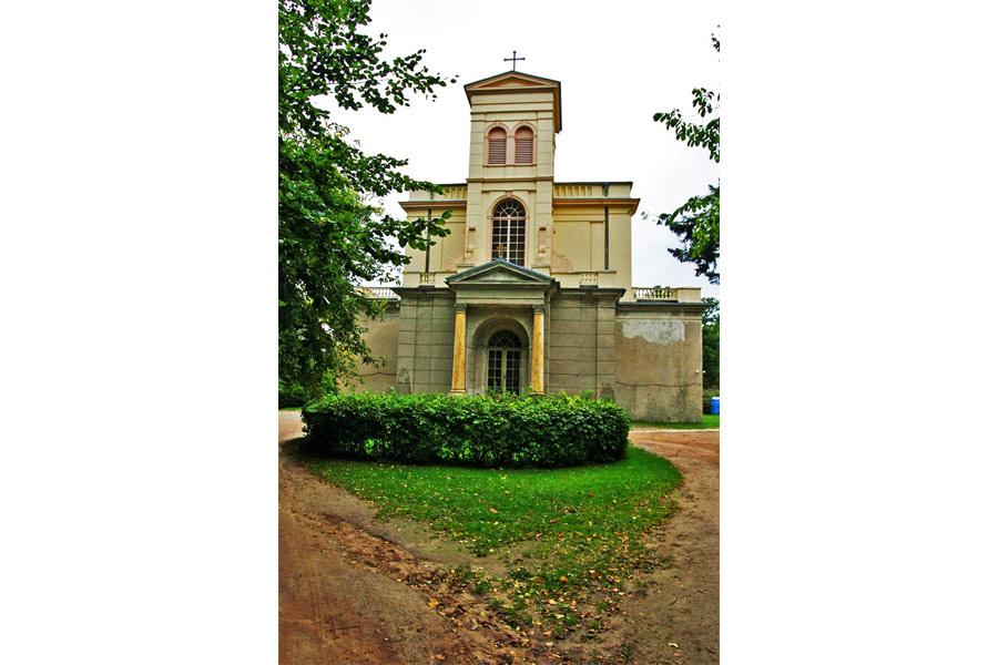 Schlosskirche Putbus im Jahr 2005